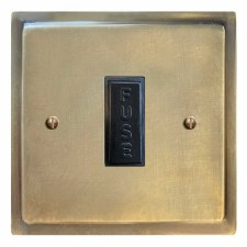Mode Fused Spur Connection Unit 13 Amp Antique Satin Brass