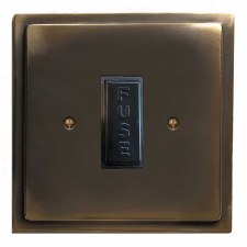 Mode Fused Spur Connection Unit 13 Amp Dark Antique Relief