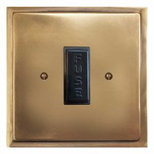 Mode Fused Spur Connection Unit 13 Amp Hand Aged Brass