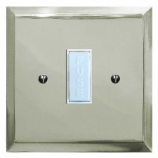 Mode Fused Spur Connection Unit 13 Amp Polished Nickel