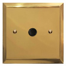 Mode Flex Outlet Polished Brass Lacquered & Black Trim