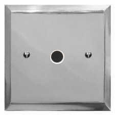 Mode Flex Outlet Polished Chrome & White Trim