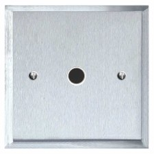 Mode Flex Outlet Satin Chrome & White Trim