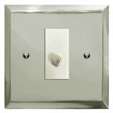 Mode Satellite Socket Polished Nickel