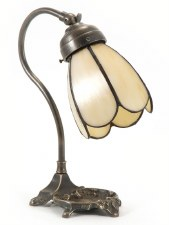Tray Base Desk or Table Lamp Art Nouveau
