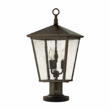 Hinkley Trellis Pedestal Light Regency Bronze