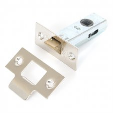 "From The Anvil Tubular Mortice Latch 2.5"" Polished Nickel"