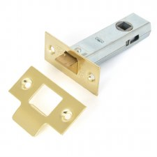 "From The Anvil Tubular Mortice Latch 3"" Electro Brass"
