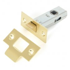 "From The Anvil Tubular Mortice Latch 2.5"" Electro Brass"