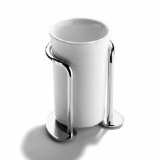 Samuel Heath L65 Freestanding Tumbler Holder Polished Chrome
