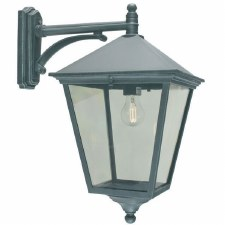 Elstead Turin Grande Large Outdoor Wall Light Lantern Verdigris