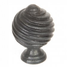 From The Anvil Twist Cabinet Knob Beeswax