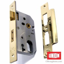 "Union Deadlock Case 2.5"" Brass"