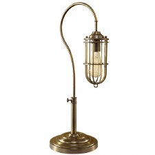 Feiss Urban Renewal Table Lamp Antique Brass
