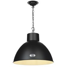 David Hunt UTI0122 Utility Pendant 44cm Matt Black