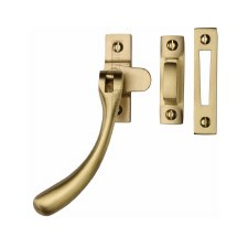 Heritage Ball Casement Fastener V1008 MP/HP Satin Brass