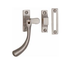 Heritage Ball Casement Fastener V1008 MP/HP Satin Nickel