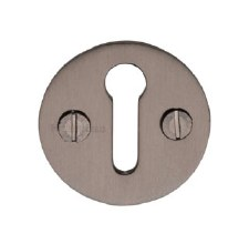 Heritage V1010 Plain Escutcheon Matt Bronze
