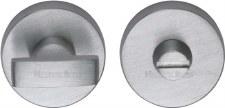 Heritage V1018 Bathroom Thumb Turn & Release Satin Chrome