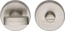 Heritage V1018 Bathroom Thumb Turn & Release Satin Nickel