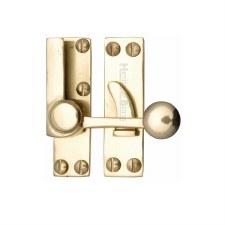 Heritage Sash Fastener V1100 Polished Brass