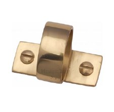 Heritage Sash Ring V1120 Polished Brass