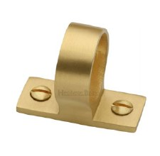 Heritage Sash Ring V1120 Satin Brass