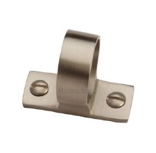 Heritage Sash Ring V1120 Satin Nickel