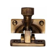 Heritage Sash Fastener V2055 Antique Brass