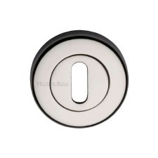 Heritage V4000 Escutcheon Polished Nickel