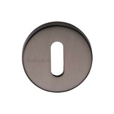 Heritage V4007 Escutcheon Matt Bronze Lacquered