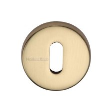 Heritage V4007 Escutcheon Polished Brass Lacquered