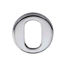 Heritage V4009 Oval Profile Escutcheon Polished Chrome