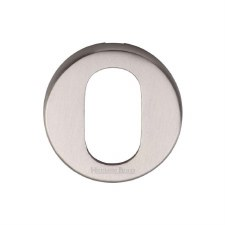 Heritage V4009 Oval Profile Escutcheon Satin Nickel
