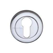 Heritage V4020 Euro Profile Escutcheon Polished Chrome