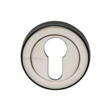 Heritage V4020 Euro Profile Escutcheon Polished Nickel
