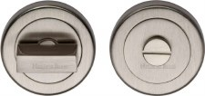 Heritage V4035 Bathroom Thumb Turn & Release Satin Nickel