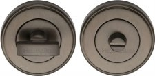 Heritage V4040 Bathroom Thumb Turn & Release Matt Bronze Lacquered