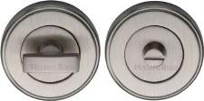 Heritage V4040 Bathroom Thumb Turn & Release Satin Nickel