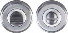 Heritage V4045 Bathroom Thumb Turn & Release Satin Chrome