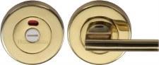 Heritage V4048 Indicator Bathroom Turn & Release Polished Brass Lacq