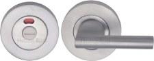 Heritage V4048 Indicator Bathroom Thumb Turn & Release Satin Chrome