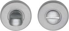 Heritage V4049 Bathroom Thumb Turn & Release Satin Chrome