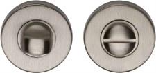 Heritage V4049 Bathroom Thumb Turn & Release Satin Nickel