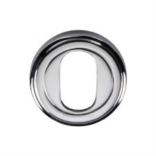 Heritage V5010 Oval Profile Escutcheon Polished Chrome