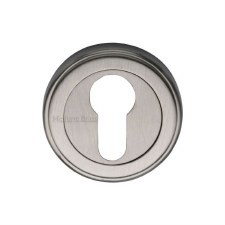 Heritage V5020 Euro Profile Escutcheon Satin Nickel