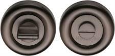 Heritage V6720 Bathroom Thumb Turn & Release Matt Bronze Lacquered