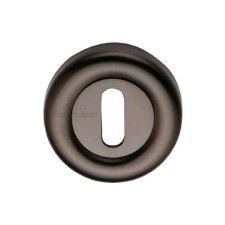 Heritage V6722 Escutcheon Matt Bronze Lacquered