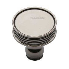 Heritage Venetian Cabinet Knob C4547 Polished Nickel