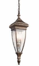 Kichler Venetian Rain Chain Lantern Light Brushed Bronze